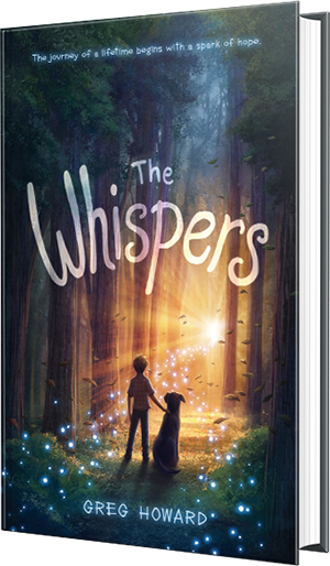 the whispers, greg howard, book