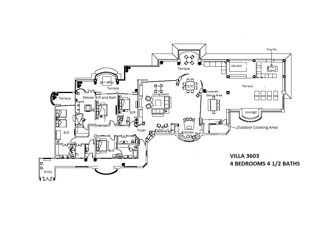 Floor plan of 3603