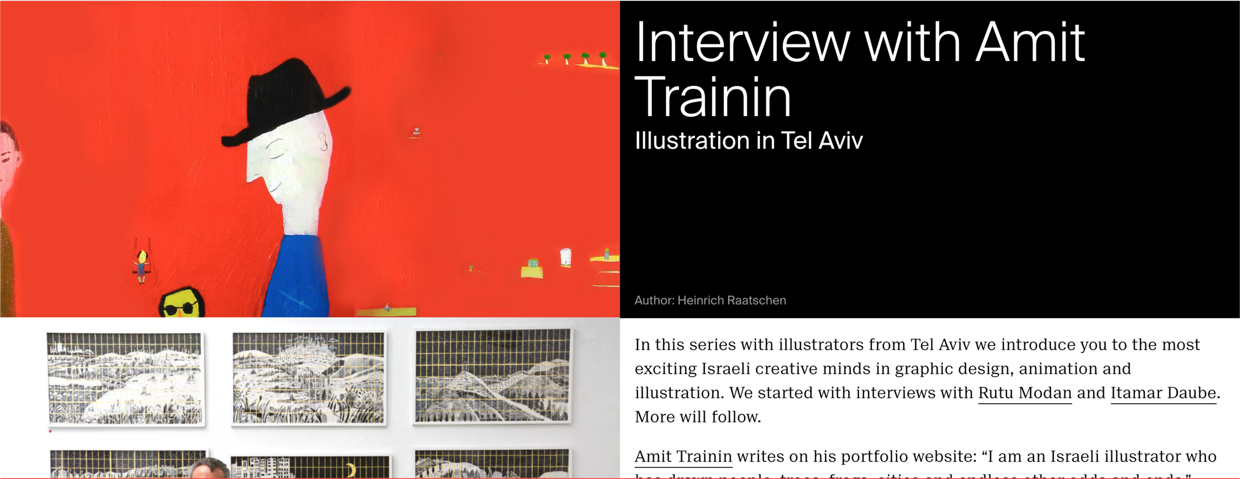Slanted - ראיון במגזין לעיצוב