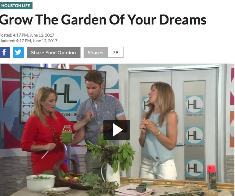 GARDEN PLANNING - on HOUSTON LIFE TV