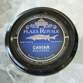 Plaza Royale Caviar Label