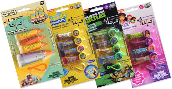 儿童脚轮 - 训练 - 诱饵包装