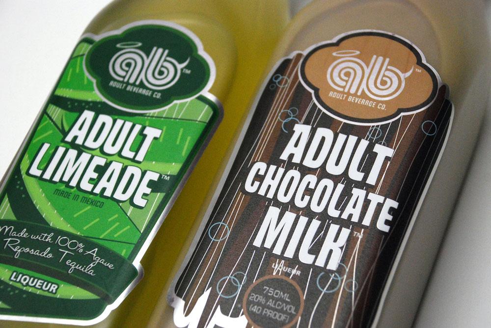 成人饮料 - 专业 - 饮料 - 标签