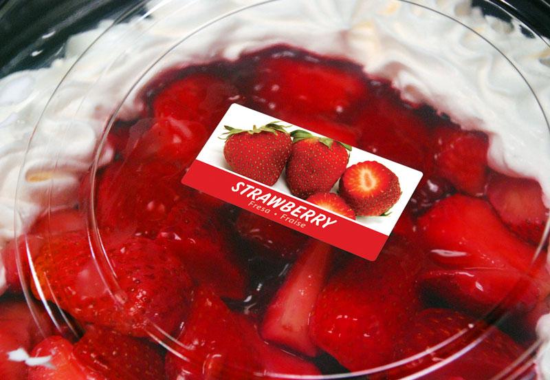 HD-Flexo-Labels-草莓风味标签
