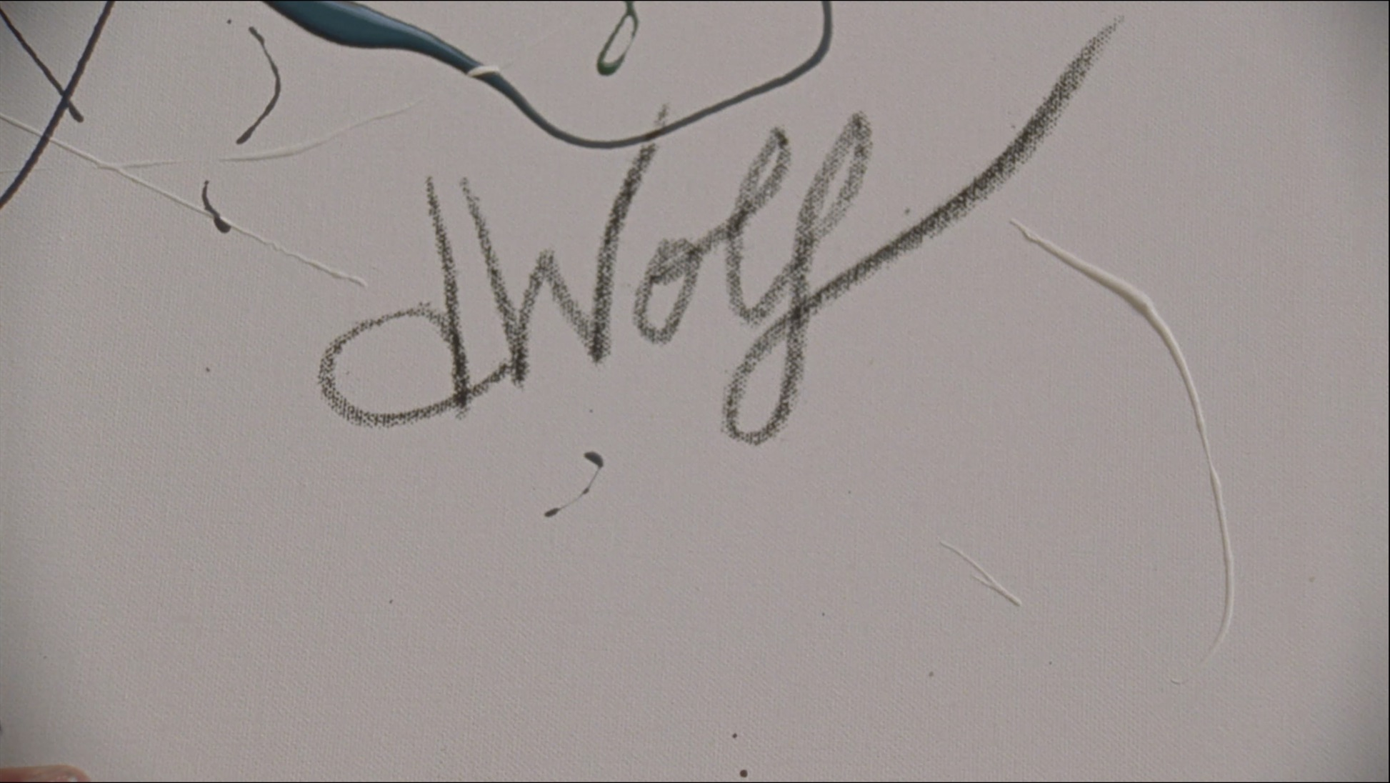 This is the title card from the film WOLF.