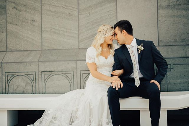 We love shooting at the Portland Temple. Congrats Gravin and McKenna!