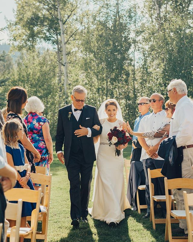 Yesterday's wedding at Teton Springs was amazing, it's hard to believe 2017 wedding season is almost done! It's been a great year! #shearerphotovideo
