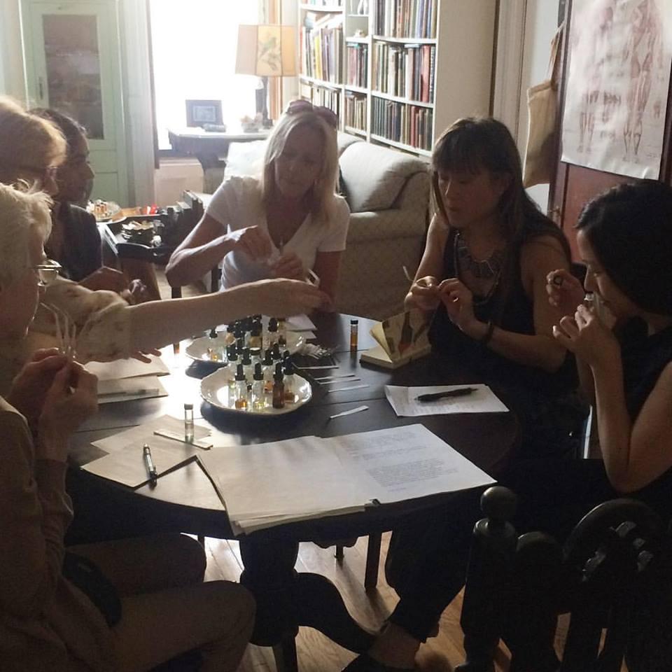 Natural Perfume Blending class by Alchemologie