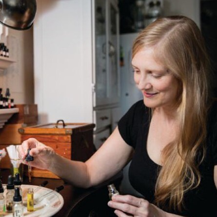 Julianne Zaleta of Alchemologie Natural Perfume