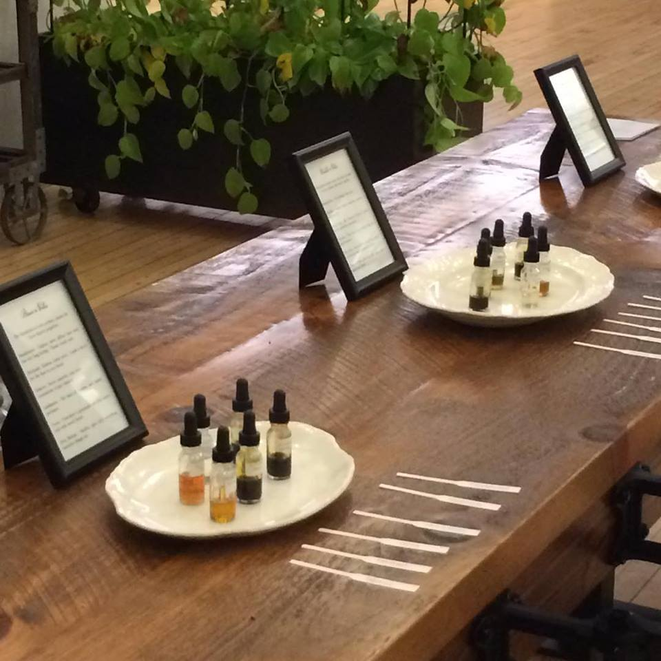 Perfume bar by Alchemologie