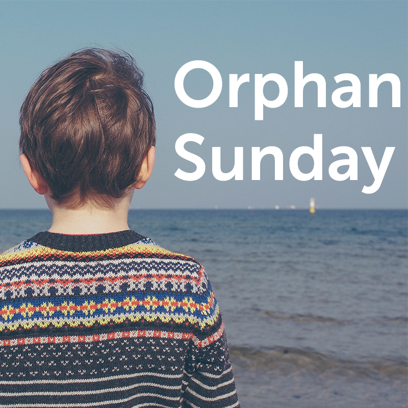 Each November, thousands of events will echo across America and around the globe, all sharing a single goal: that God's great love for the orphan will find echo in our lives as well. Orphan Sunday is your opportunity to rouse churches, communities, and friends to God's call to care for the orphan.   orphansunday.org
