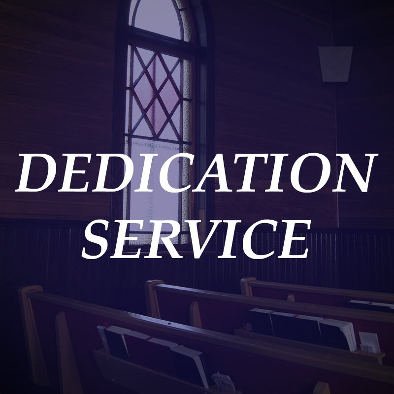 Organize a special dedication service for adopted children and/or their siblings.