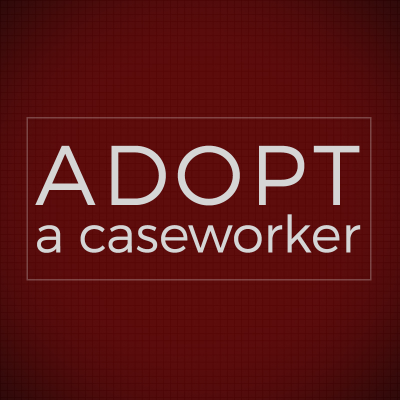 The adopt a caseworker program connects caseworkers with individuals, churches, businesses, and organizations in an effort to meet specific needs of that caseworkers clients.  gtcp.org