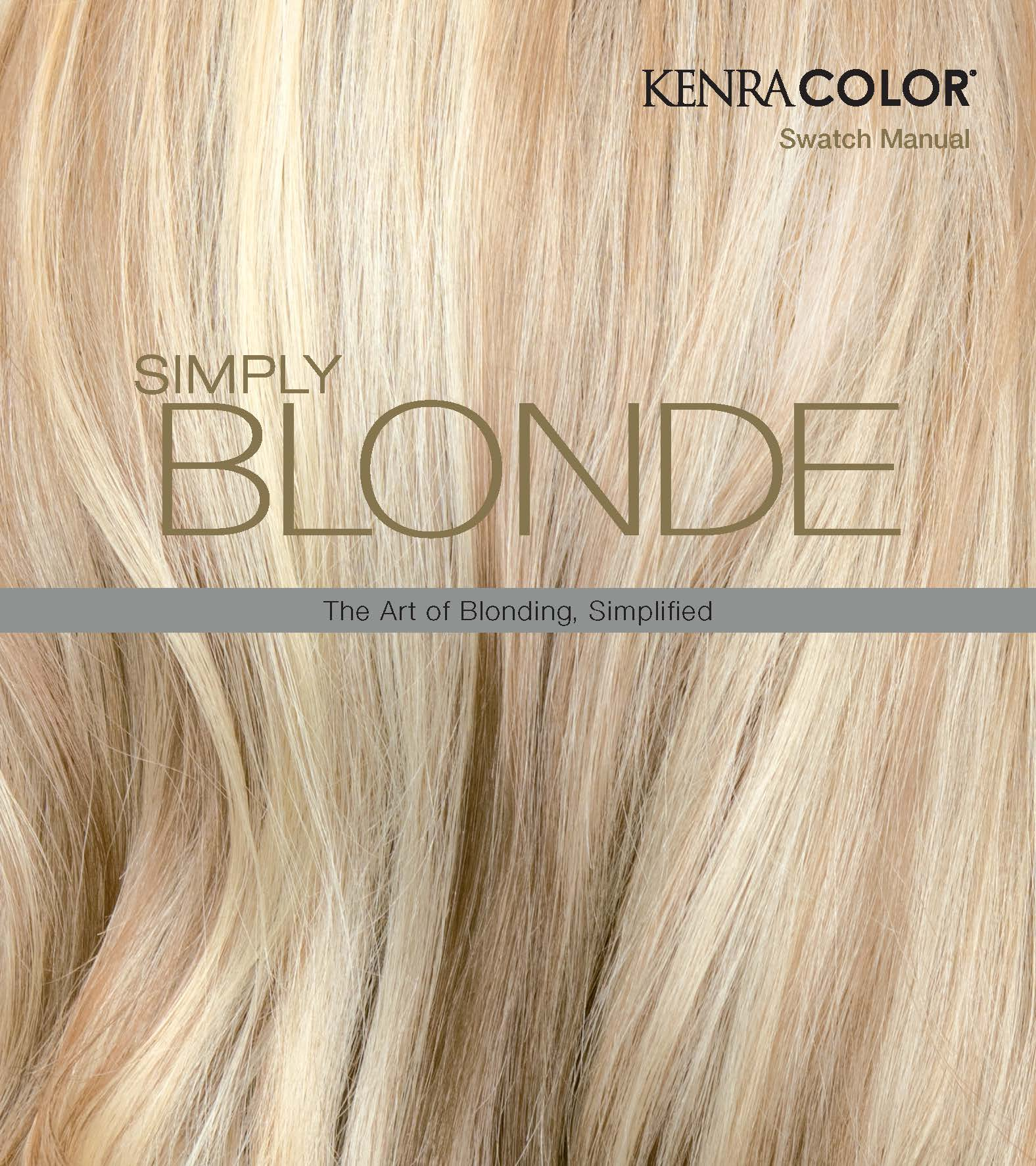 Download the Simply Blonde Manual Here.