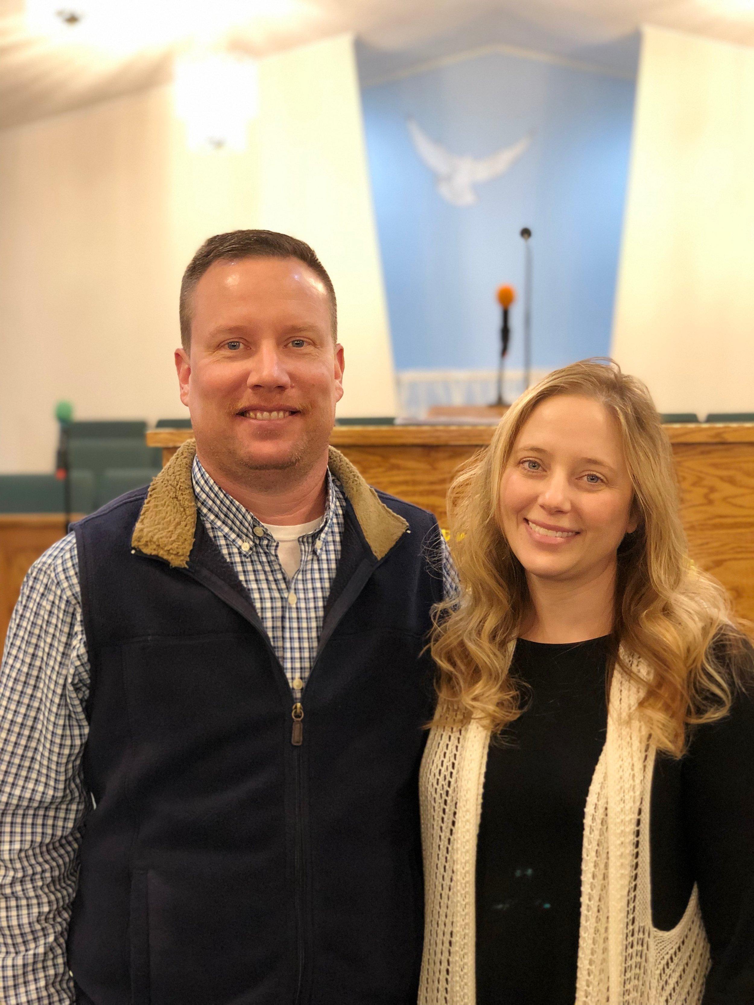 Associate Pastor  - Kevin and Tonya Woods