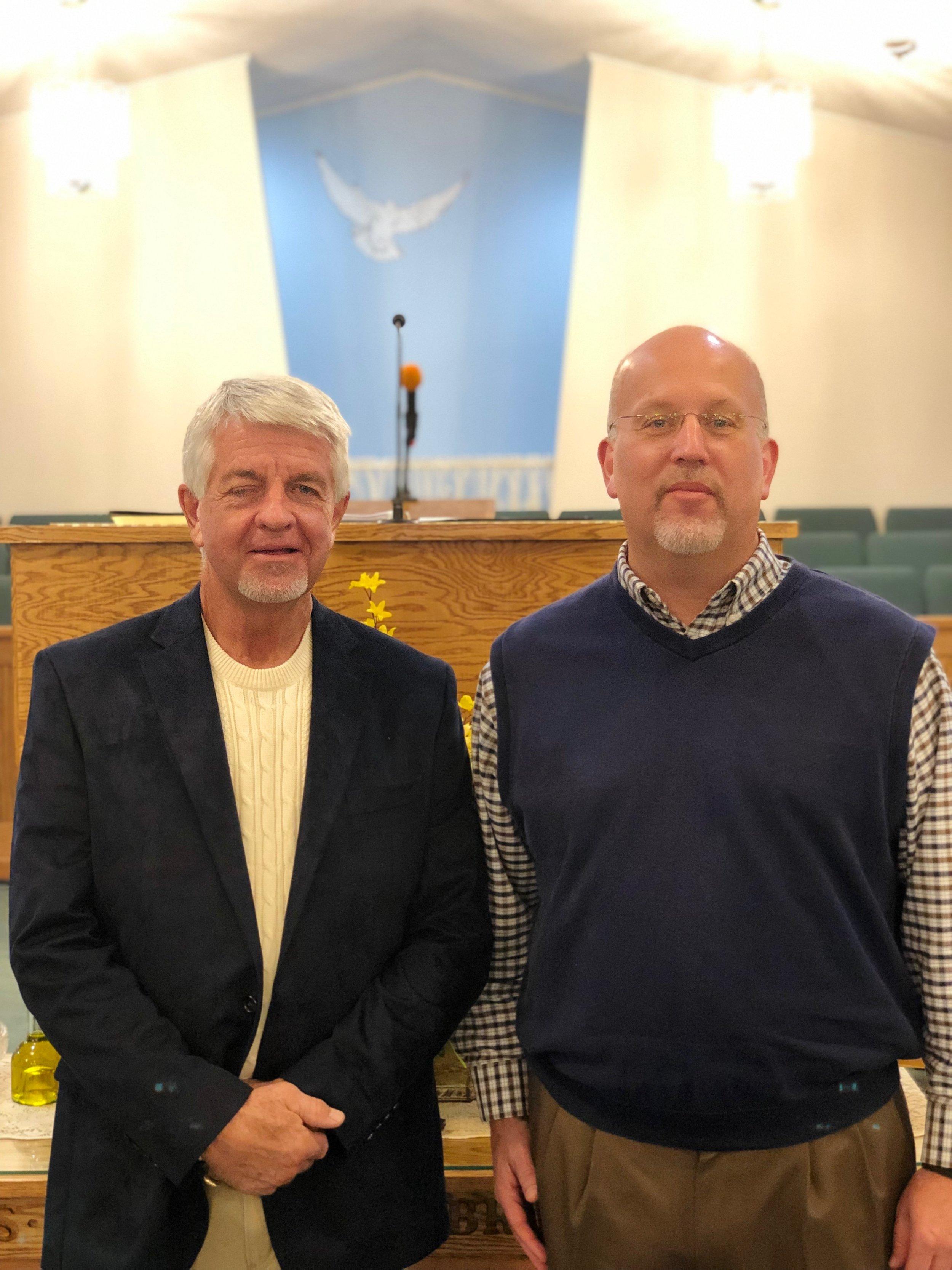 Assistant Choir Director  - Dan Hughes,  Choir Director  - Greg Fullbright