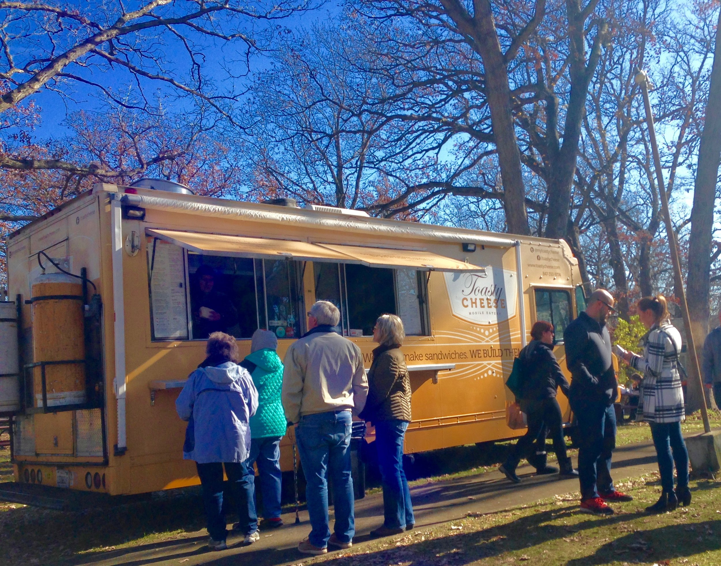 Toasty Cheese and Best Truckin' BBQ will be serving lunch both days.