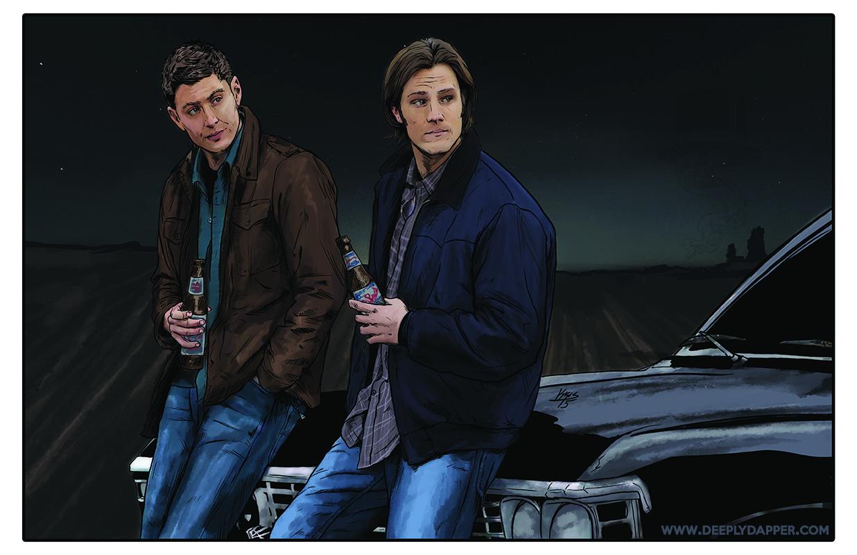 Sam and Dean 11x17.jpg
