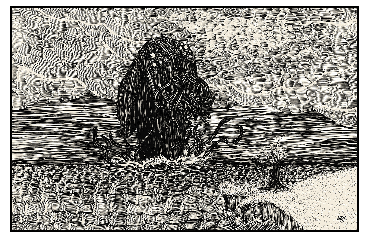 Cthulhu Approaches 11x17 size.jpg