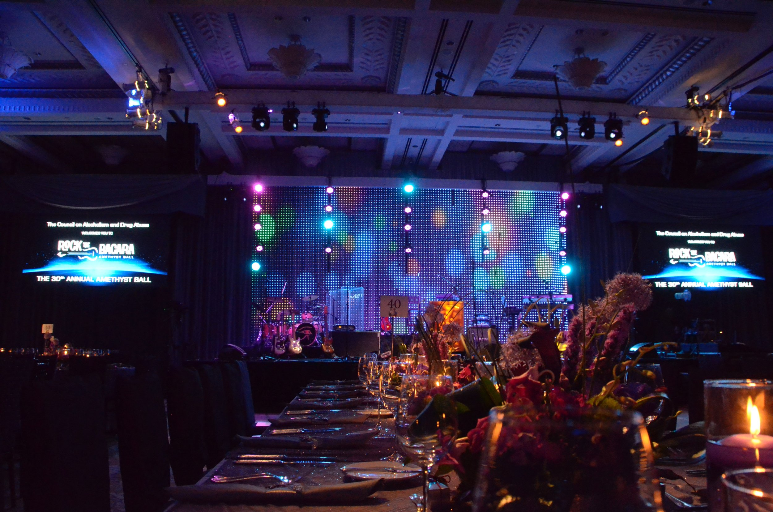 Concert LED Wall and Curtain