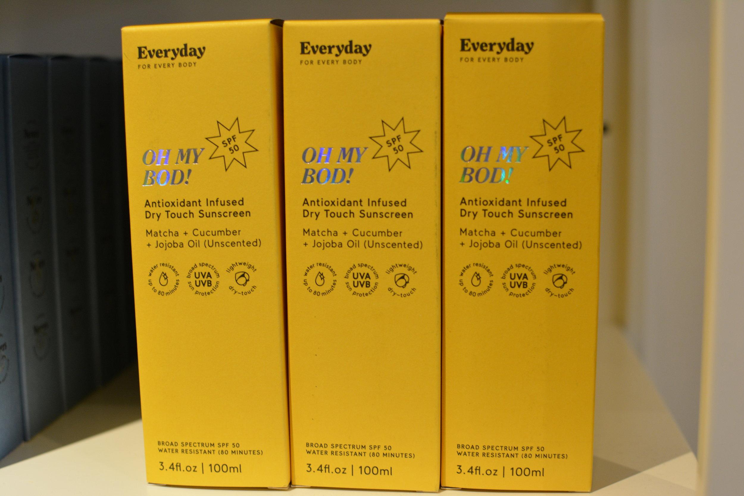 Oh My Bod! Antioxidant Sunscreen