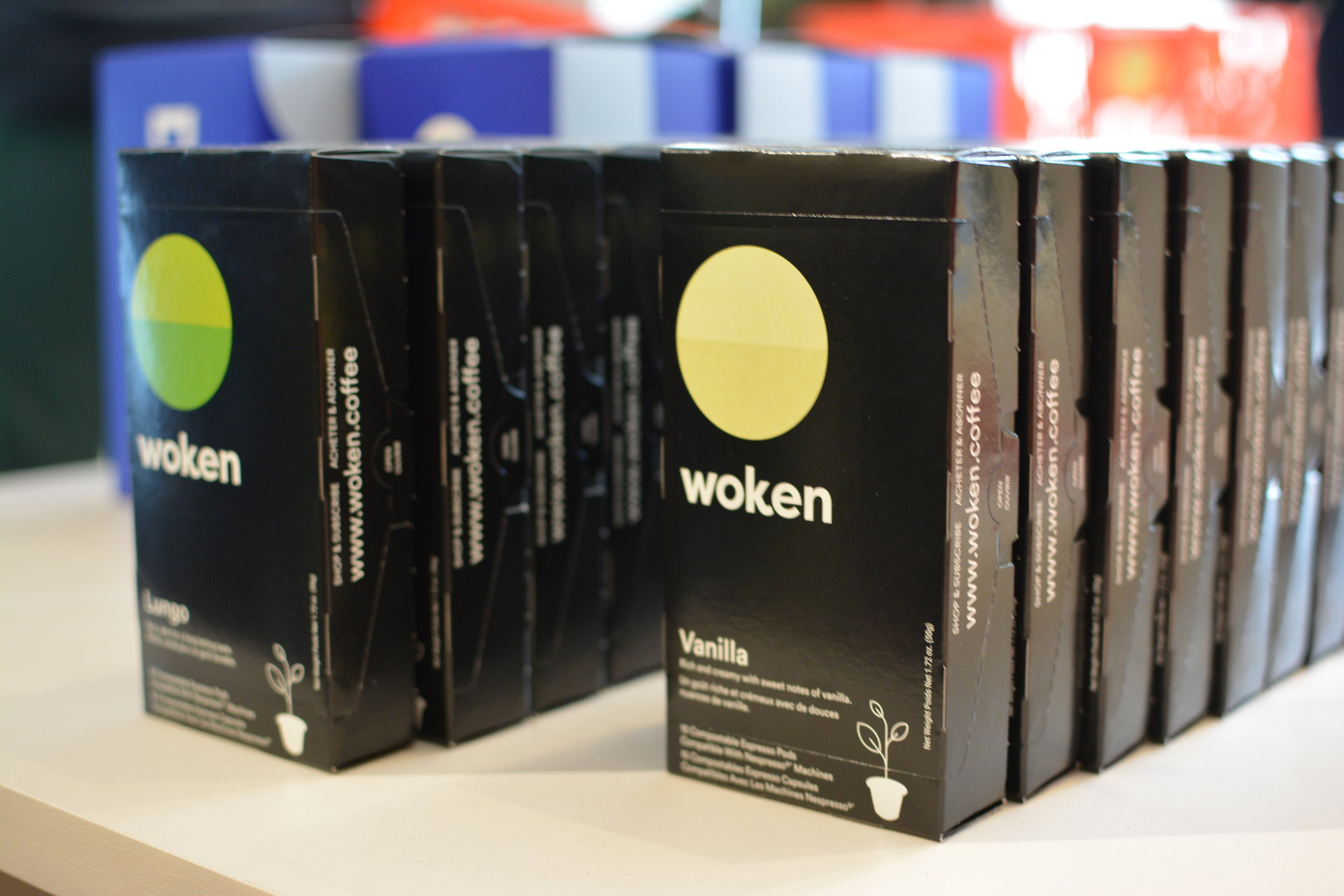 Woken Coffee Pods