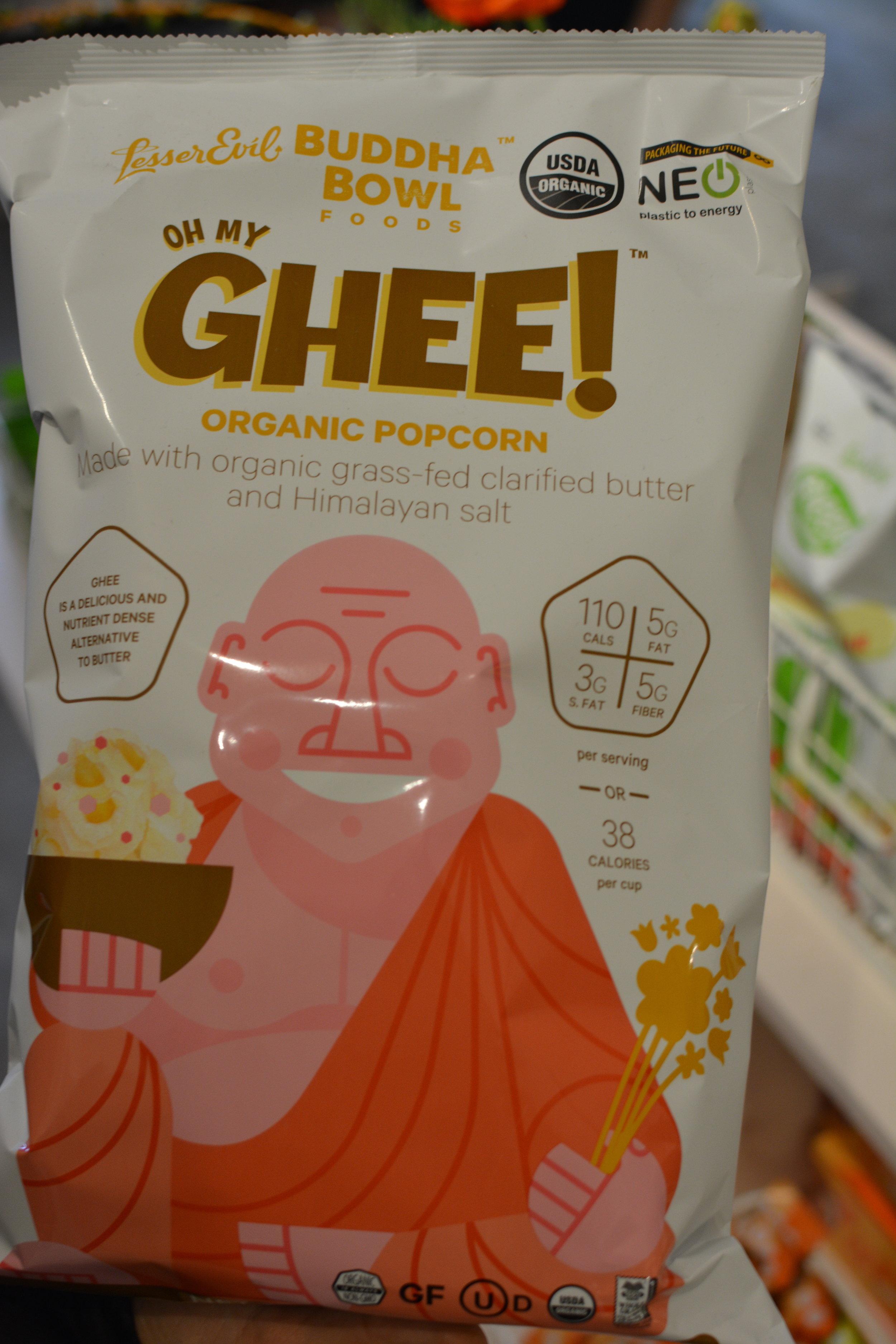 Oh My Ghee! Popcorn