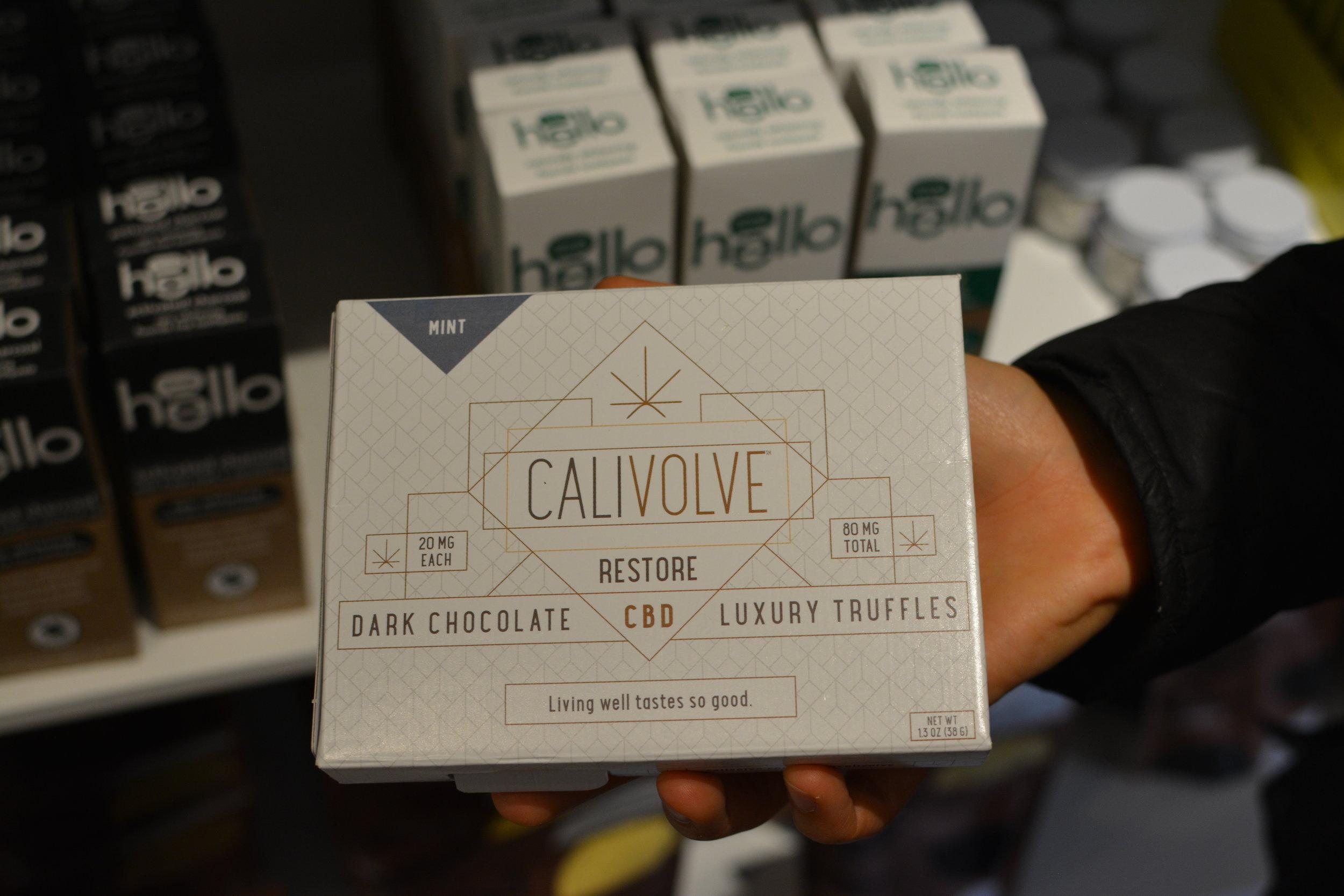 Calivolve Luxury CBD Edibles