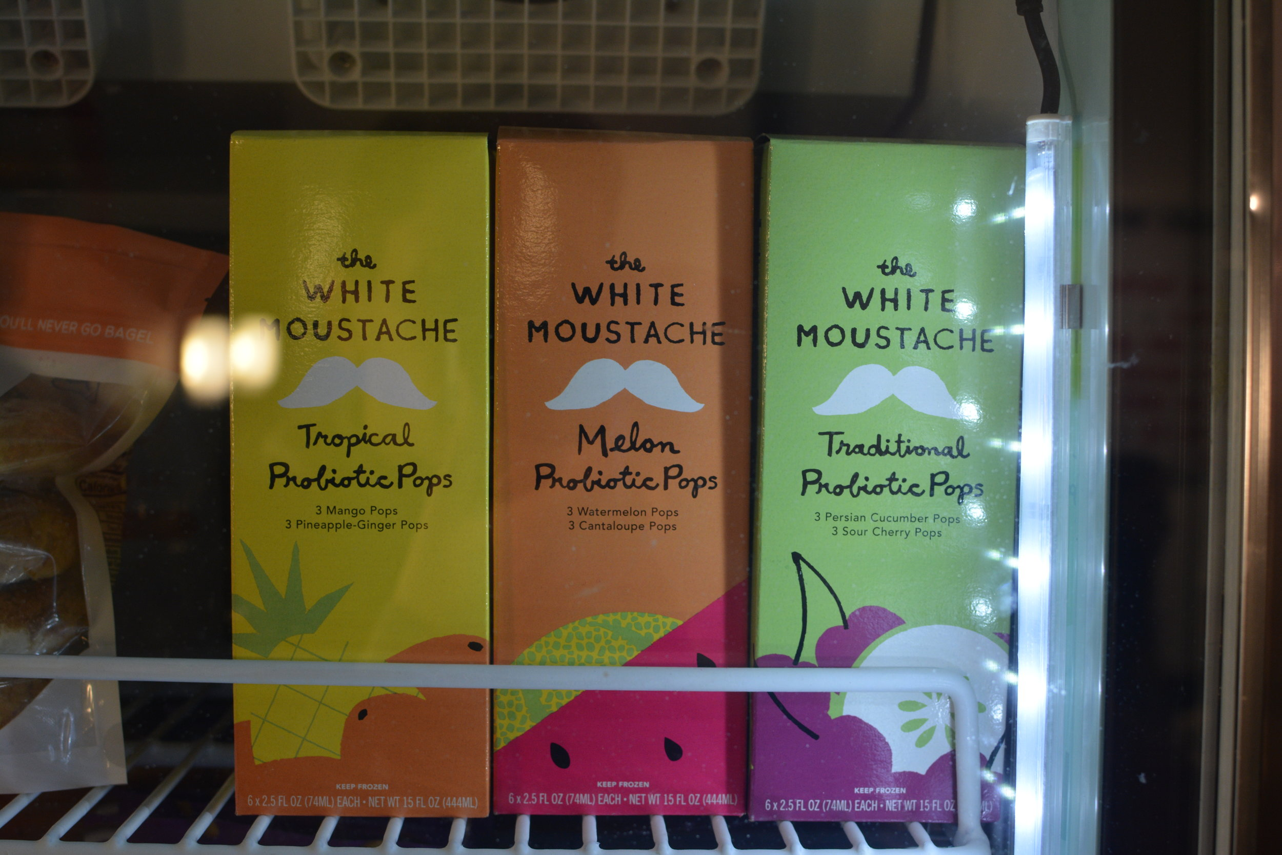 The White Moustache Probiotic Pops