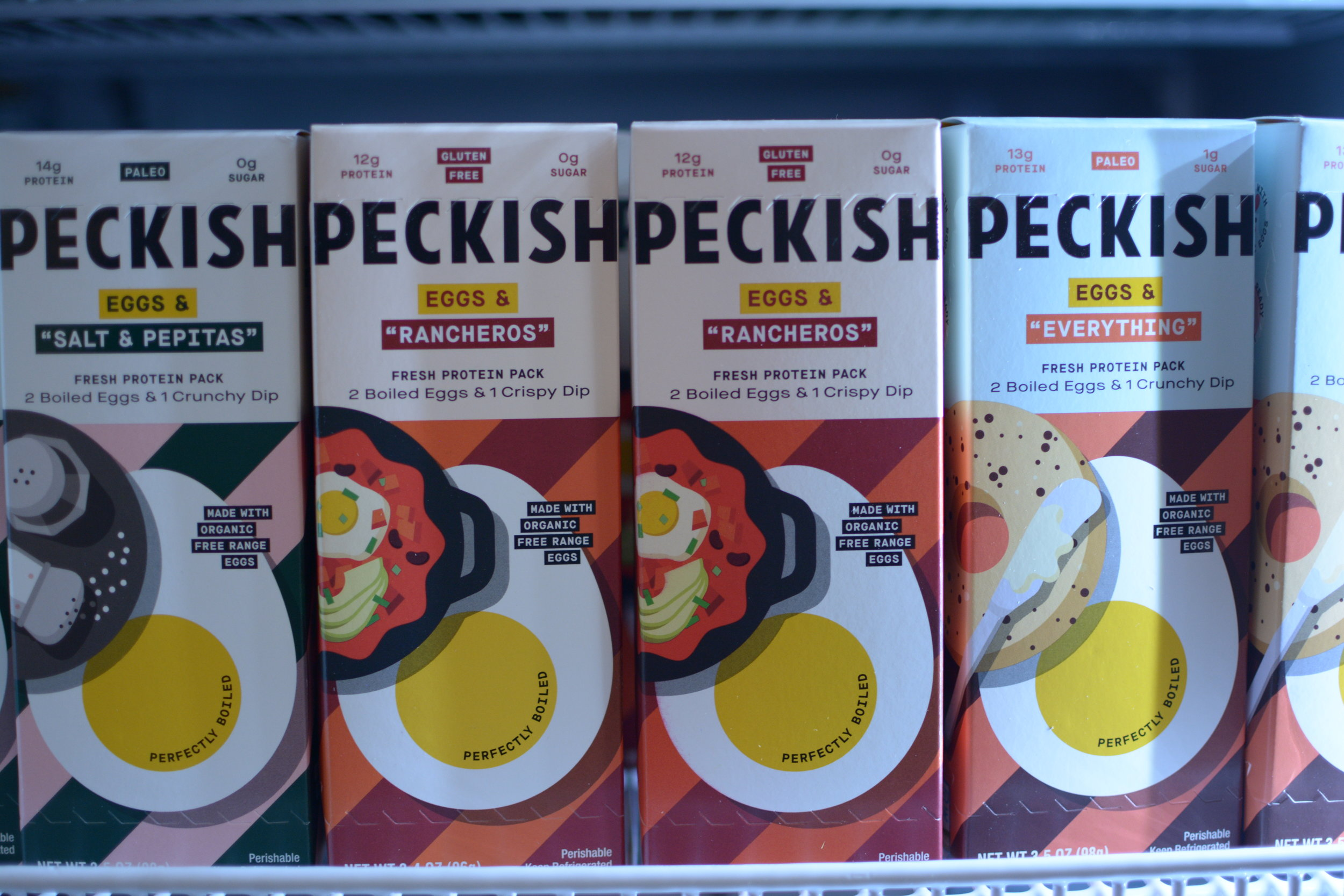 Peckish Hard Boiled Egg and Dip Kits