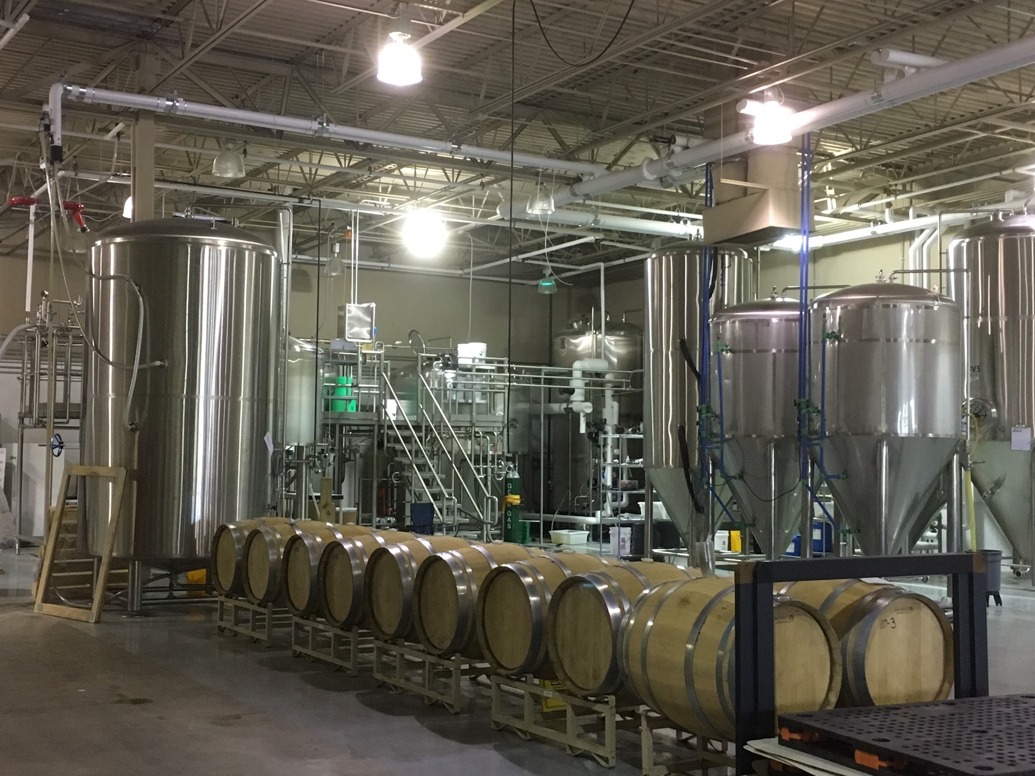Production Brewery - 750 Cross Pointe Road, Columbus, OH