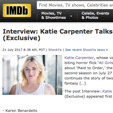 IMDb Interview