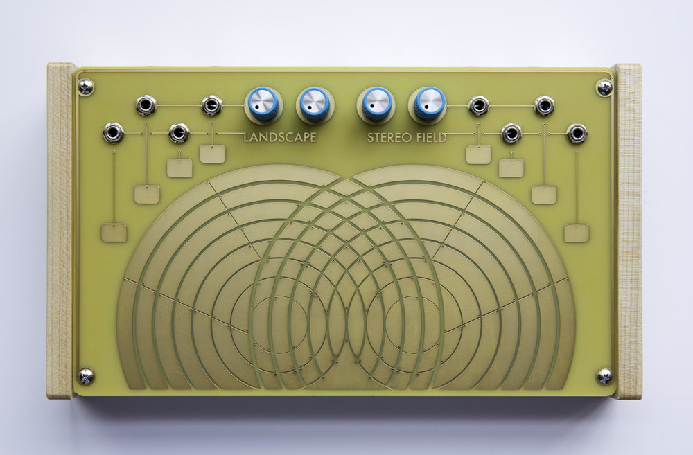 STEREO FIELD / Touch based feedback instrument, audio processor and CV controller. -