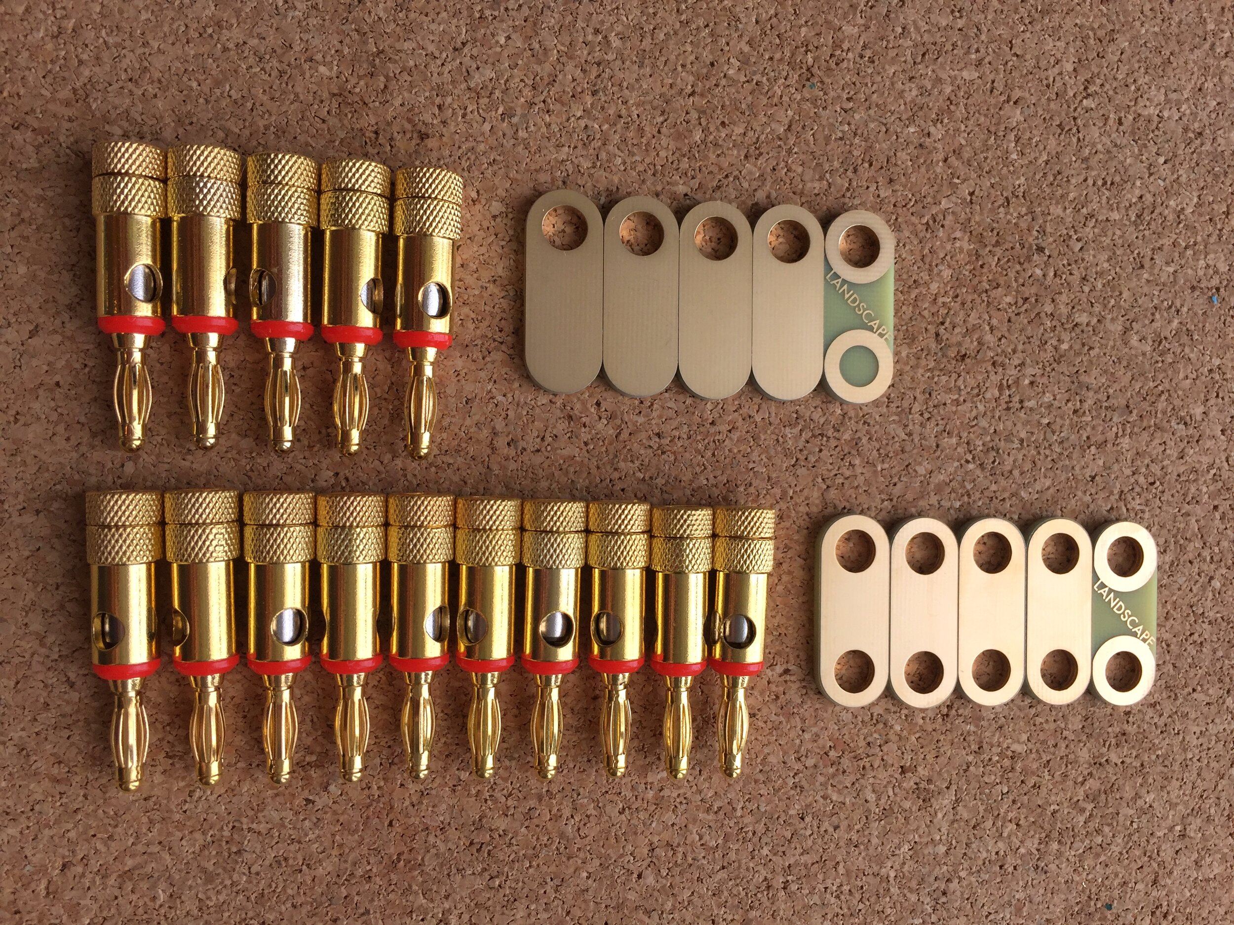 *5 touch points + 5 shorting bars kit