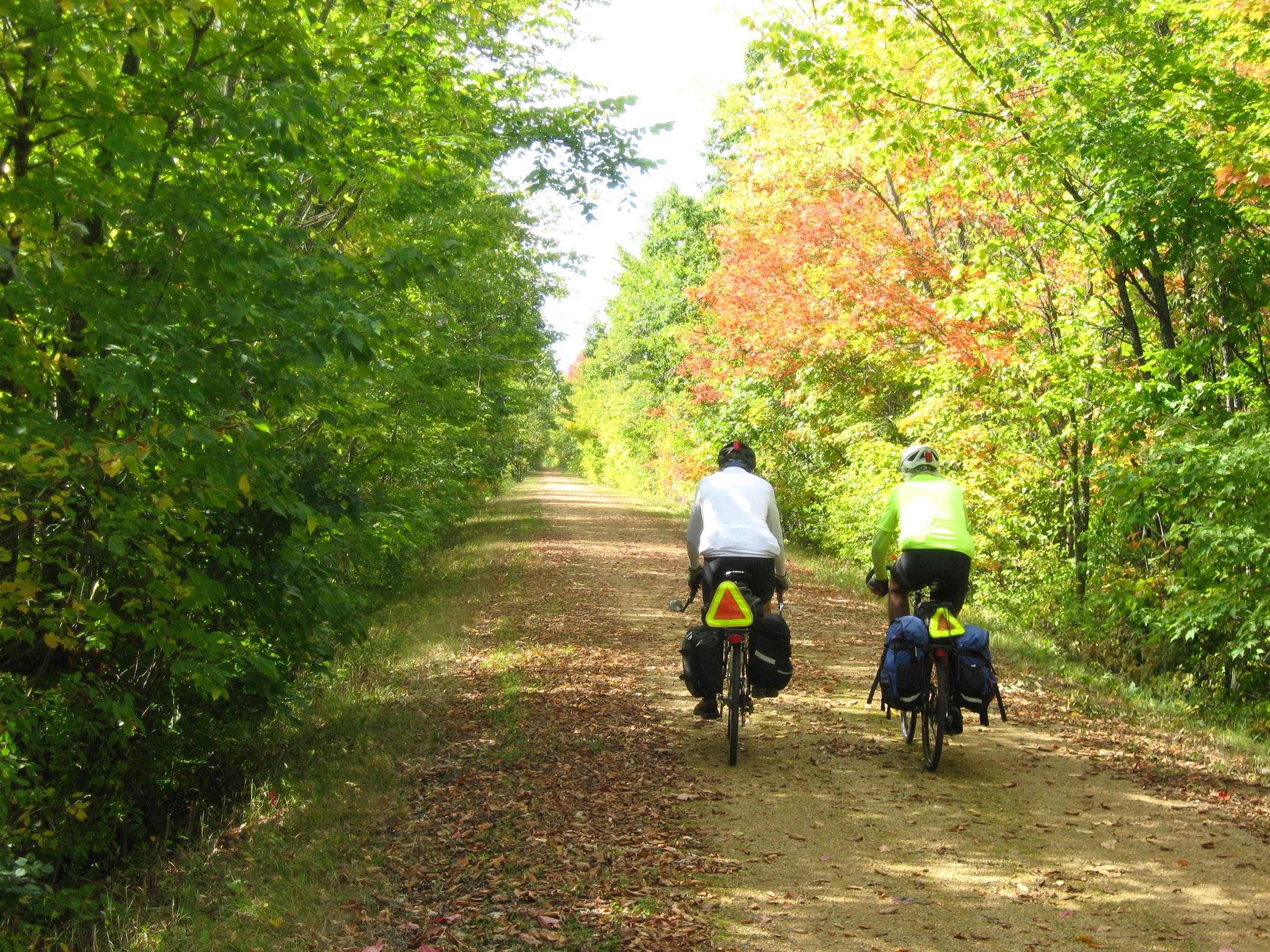 8 Jim & Richard pass some fall color copy.JPG