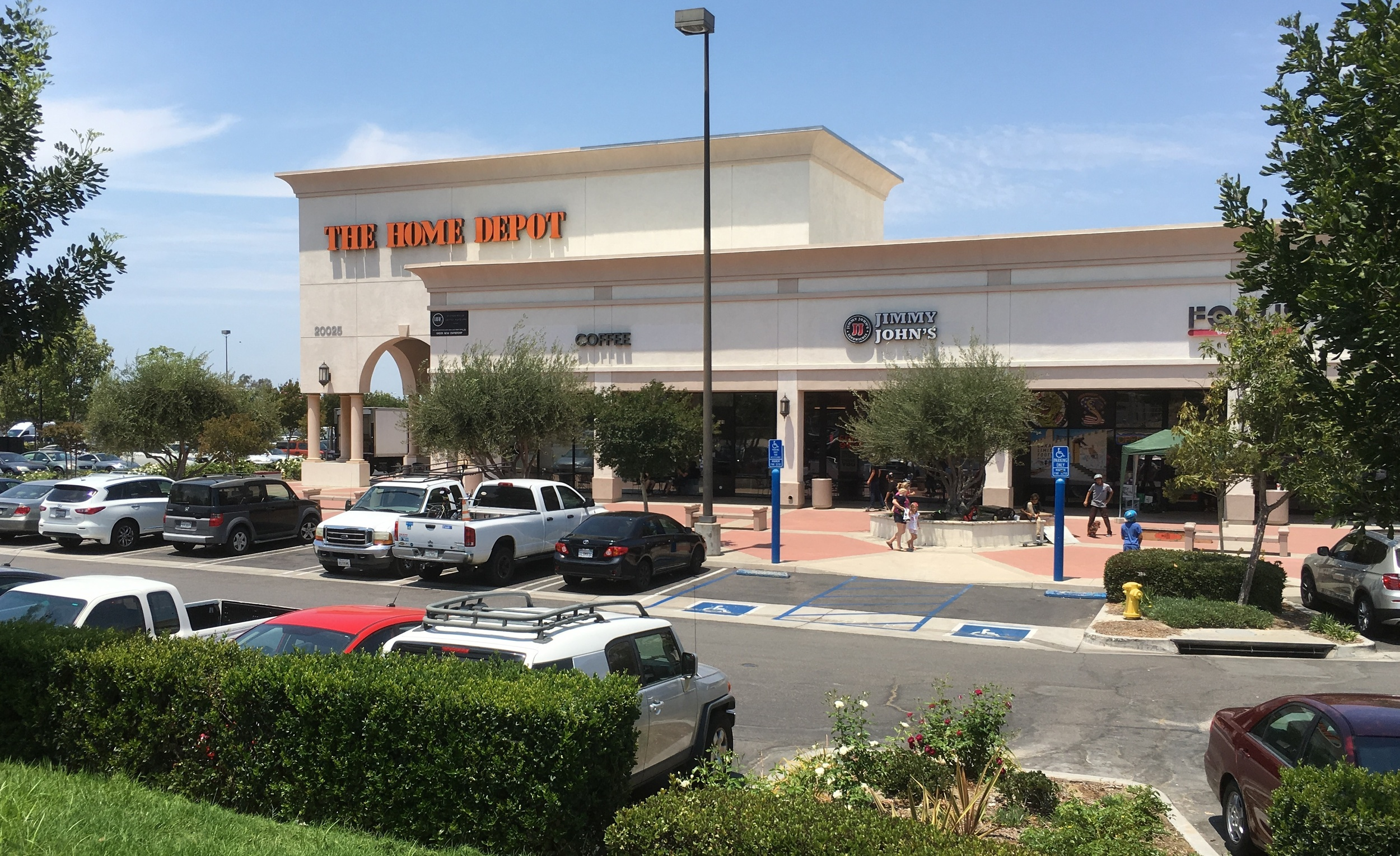 The Home Depot Shopping Center,  20025 Lake Forest Dr #101, Lake Forest   92630