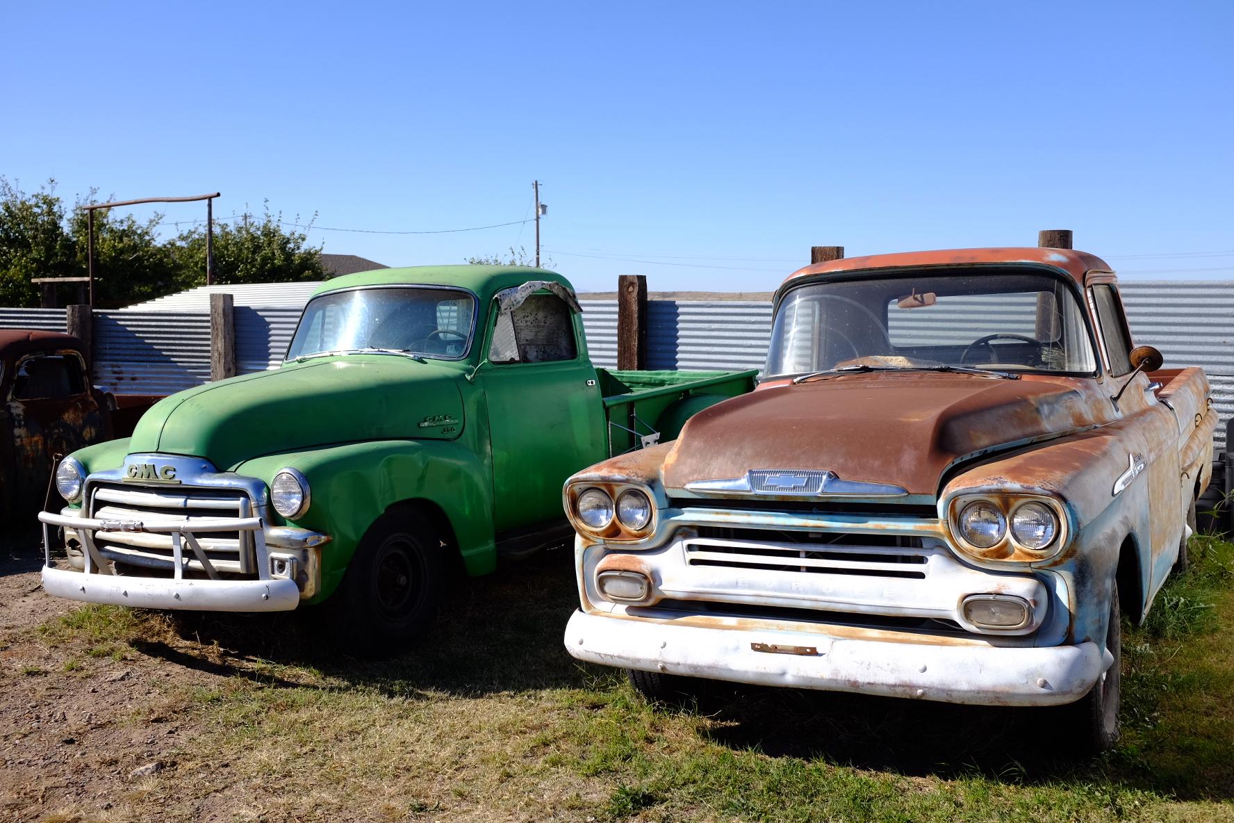old trucks marfa
