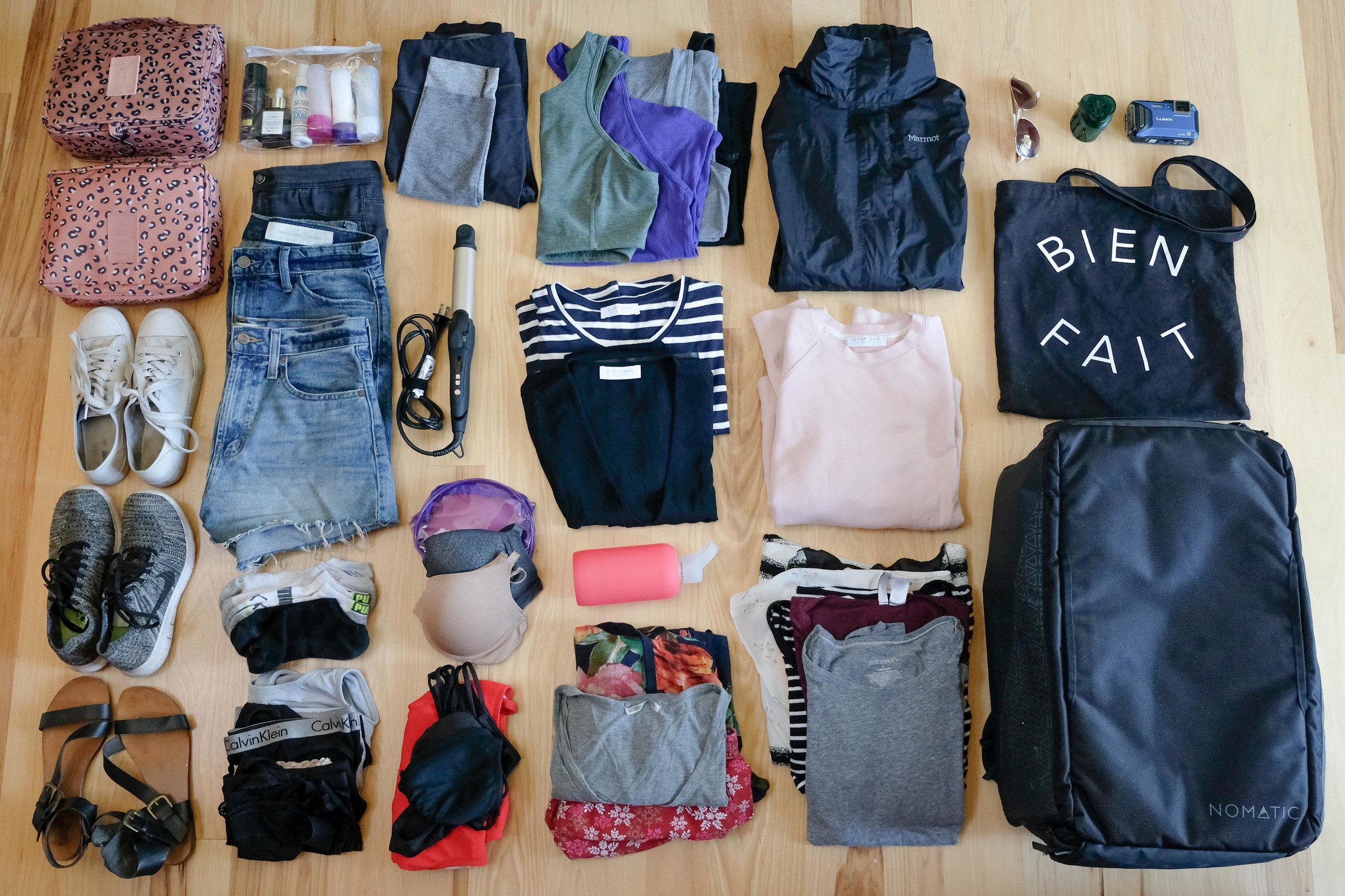 Packing for a round the world trip: Anna's Guide - August 14th, 2017