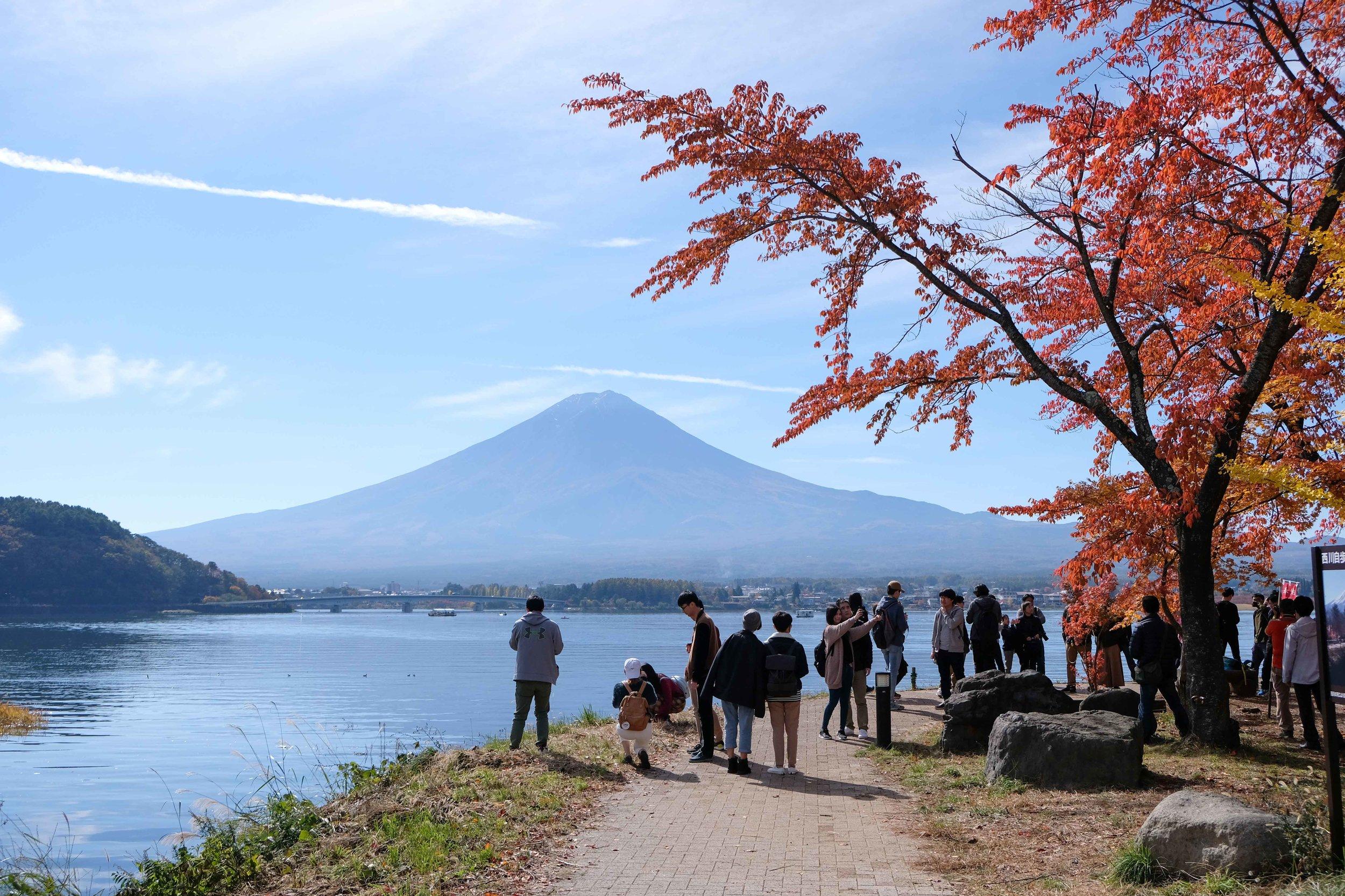Kawaguchiko Day Trip For Those Mt. Fuji Views - November 15th, 2017