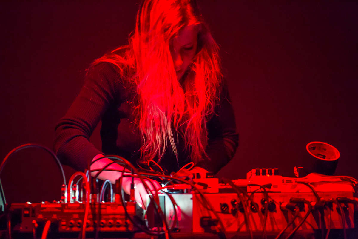 Epic performance by  Pharmakon