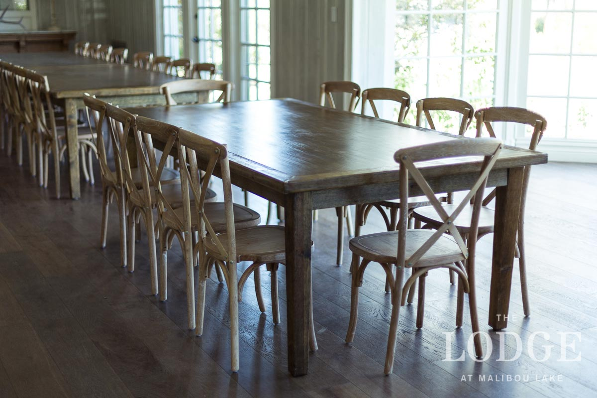 Farmhouse Tables with 10 Chairs
