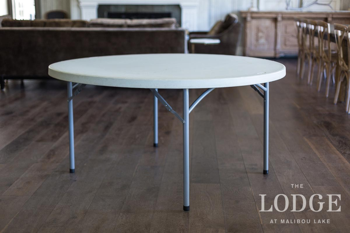 """60"""" Round Dining Table (15 in stock)"""