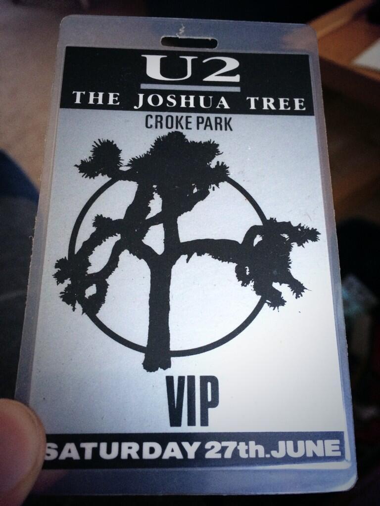 U2, at Croke Park. Soon to return, 30 years later.