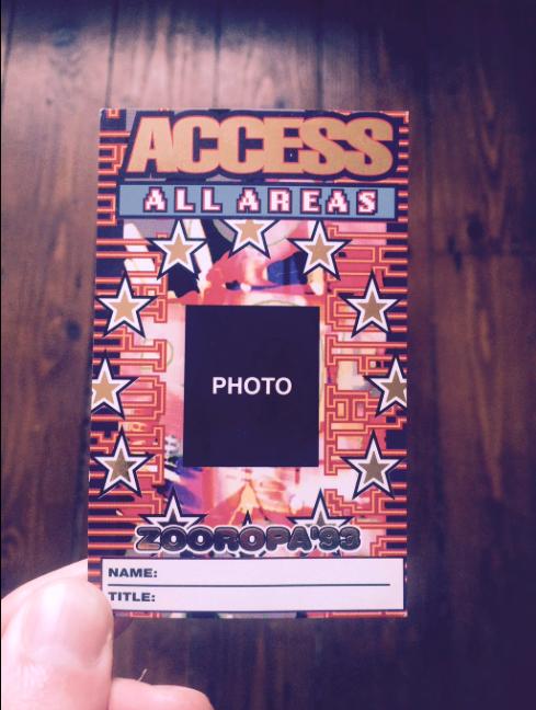 AAA Zooropa '93.