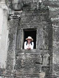 Me in Angkor Wat, Cambodia