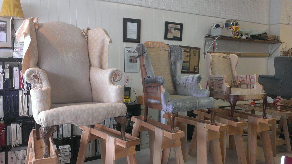 The three bears' chairs?