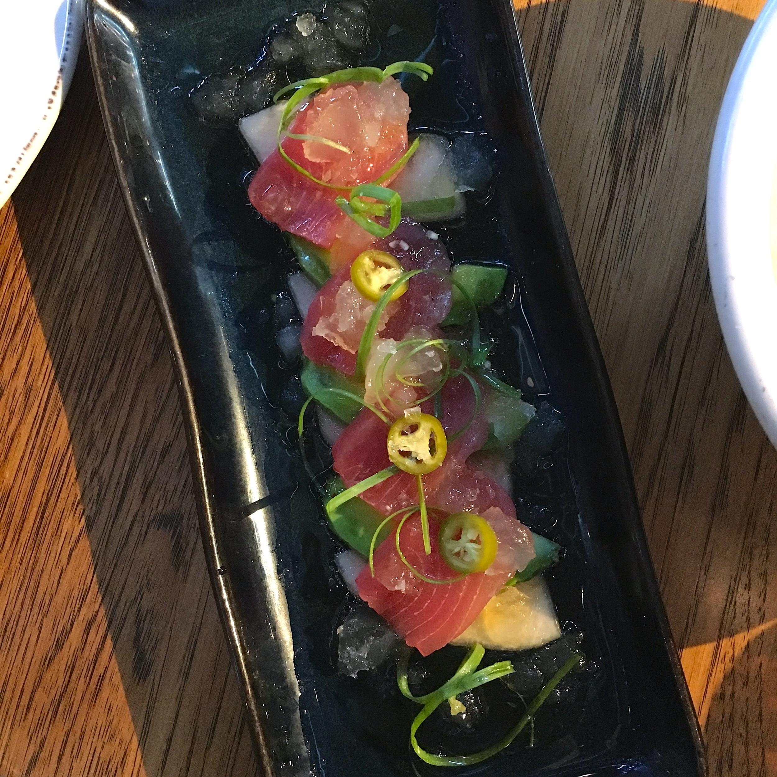 ahi tuna sashimi