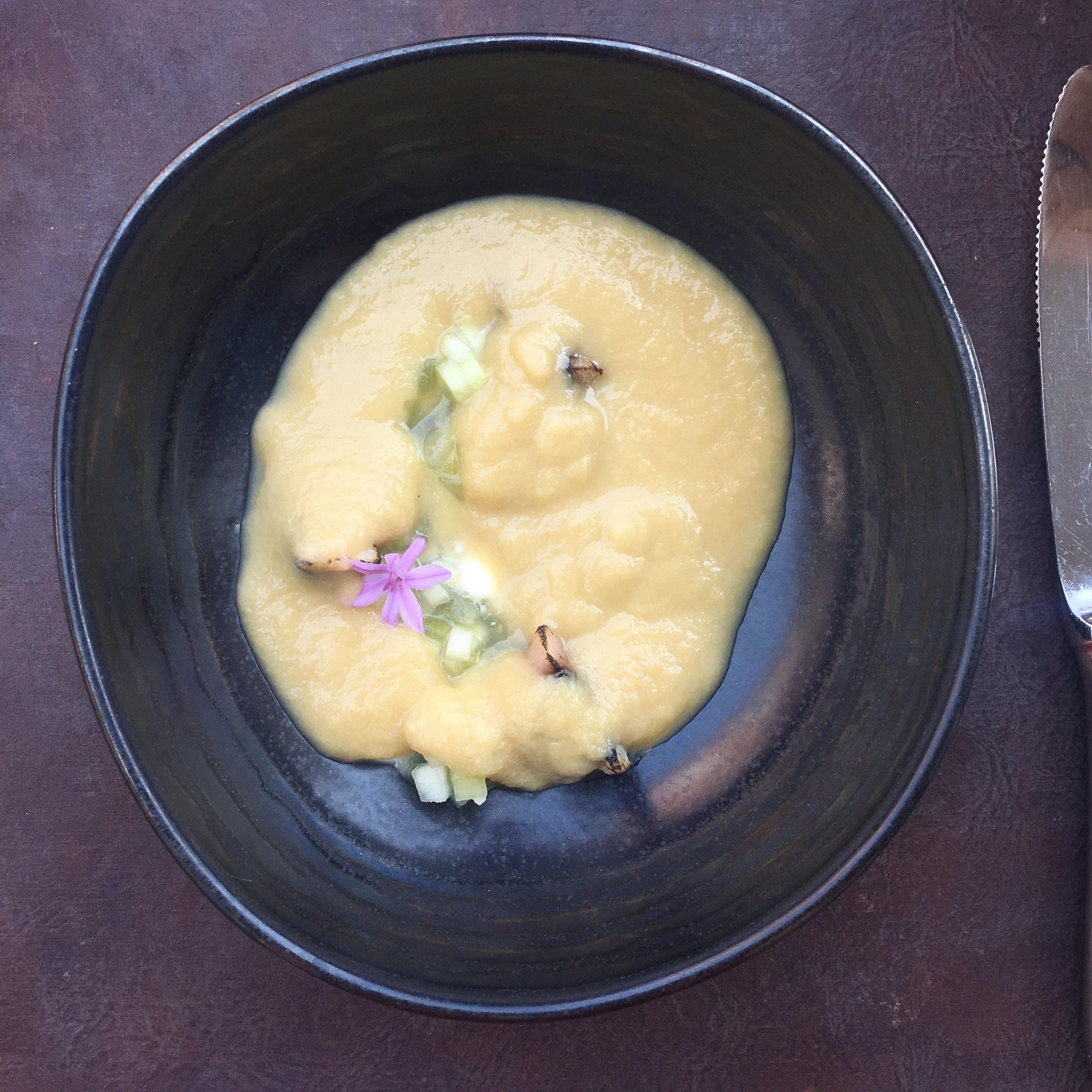 fresh summer soup
