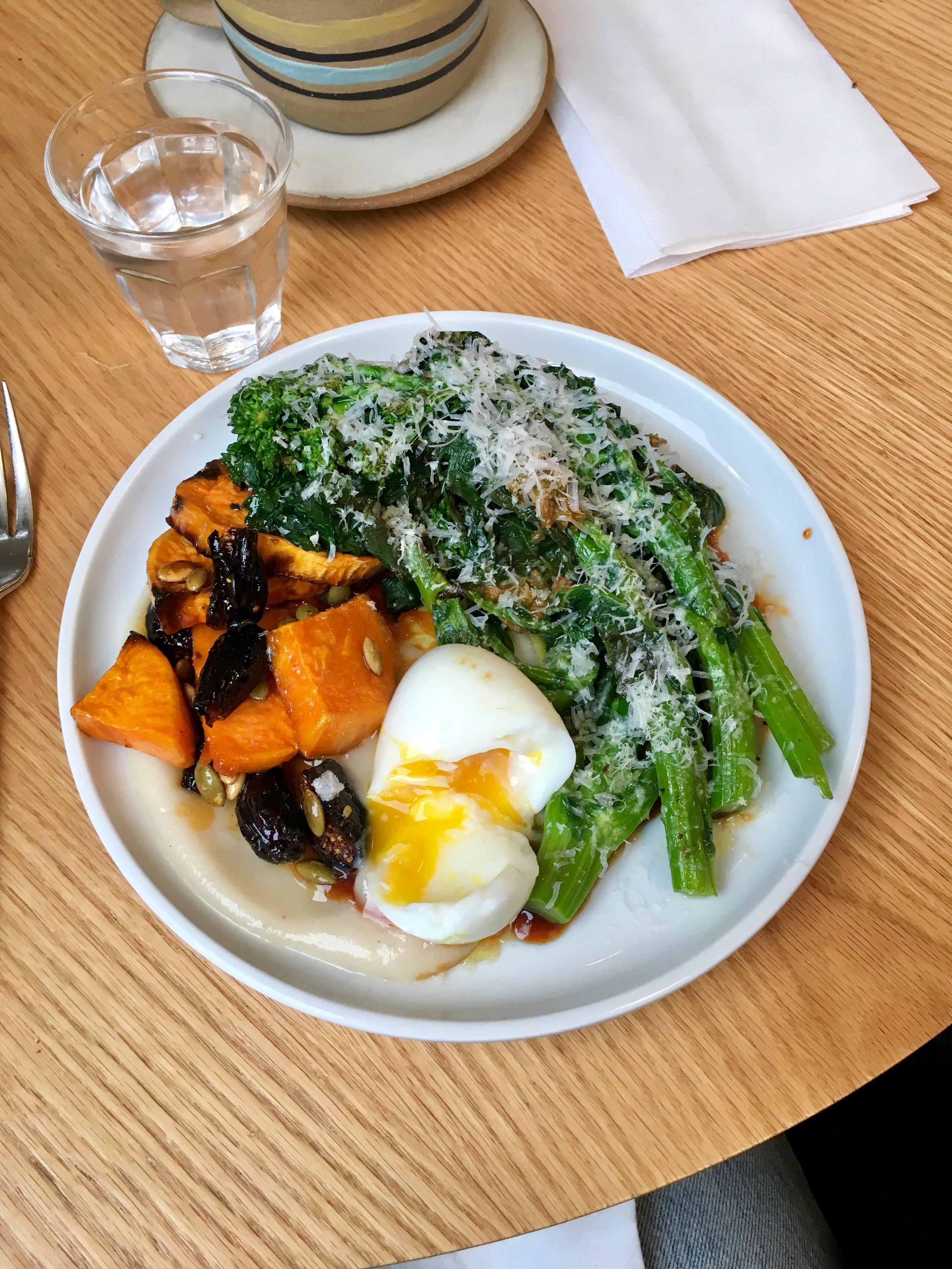 charred broccoli rabe & zhug
