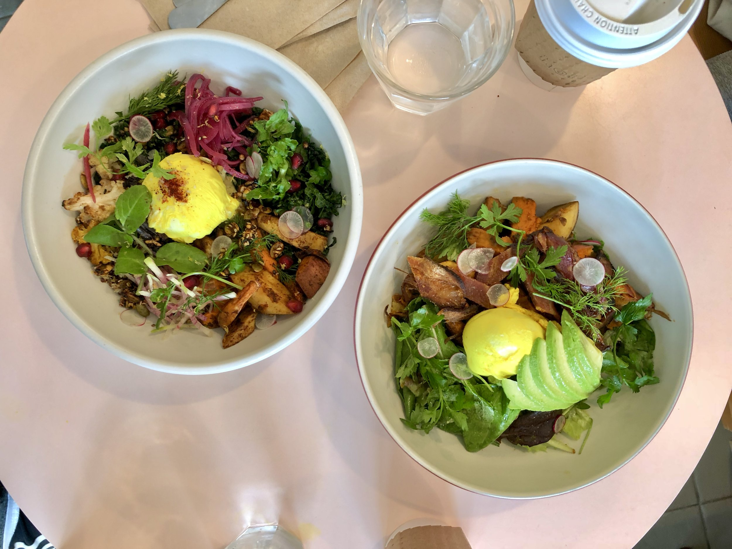 that grain bowl // breakfast bowl